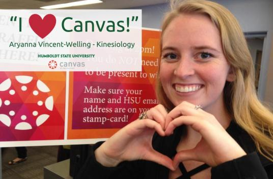 """i heart Canvas!"" Aryanna Vincent-Welling"